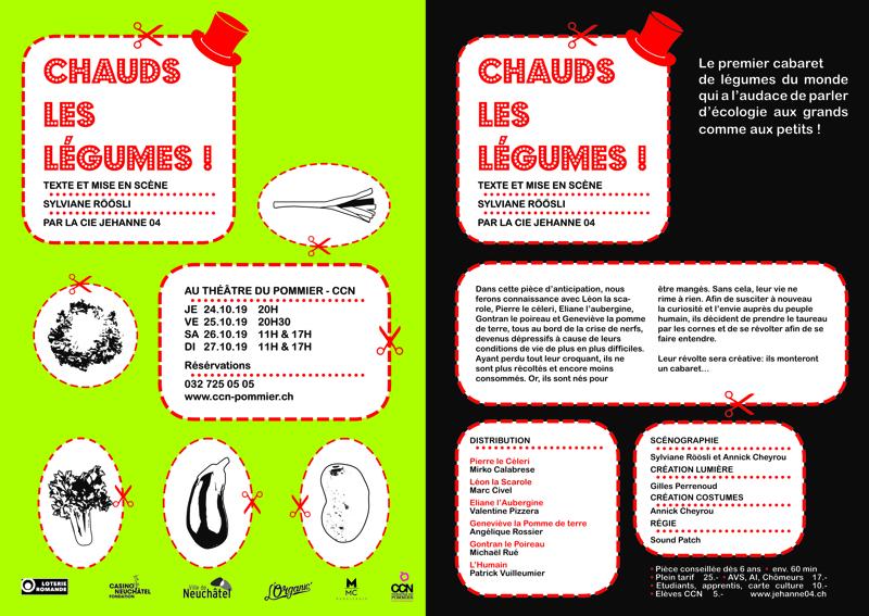 Flyer CHAUDS LES LÉGUMES !